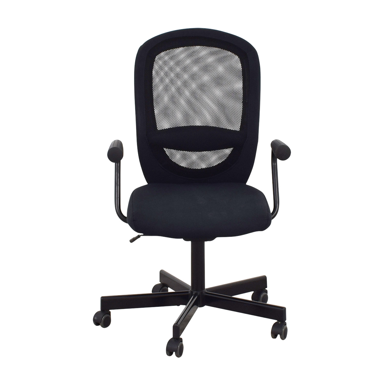 shop Flitan Nominell Swivel Chair with Armrests Flitan Nominell Home Office Chairs