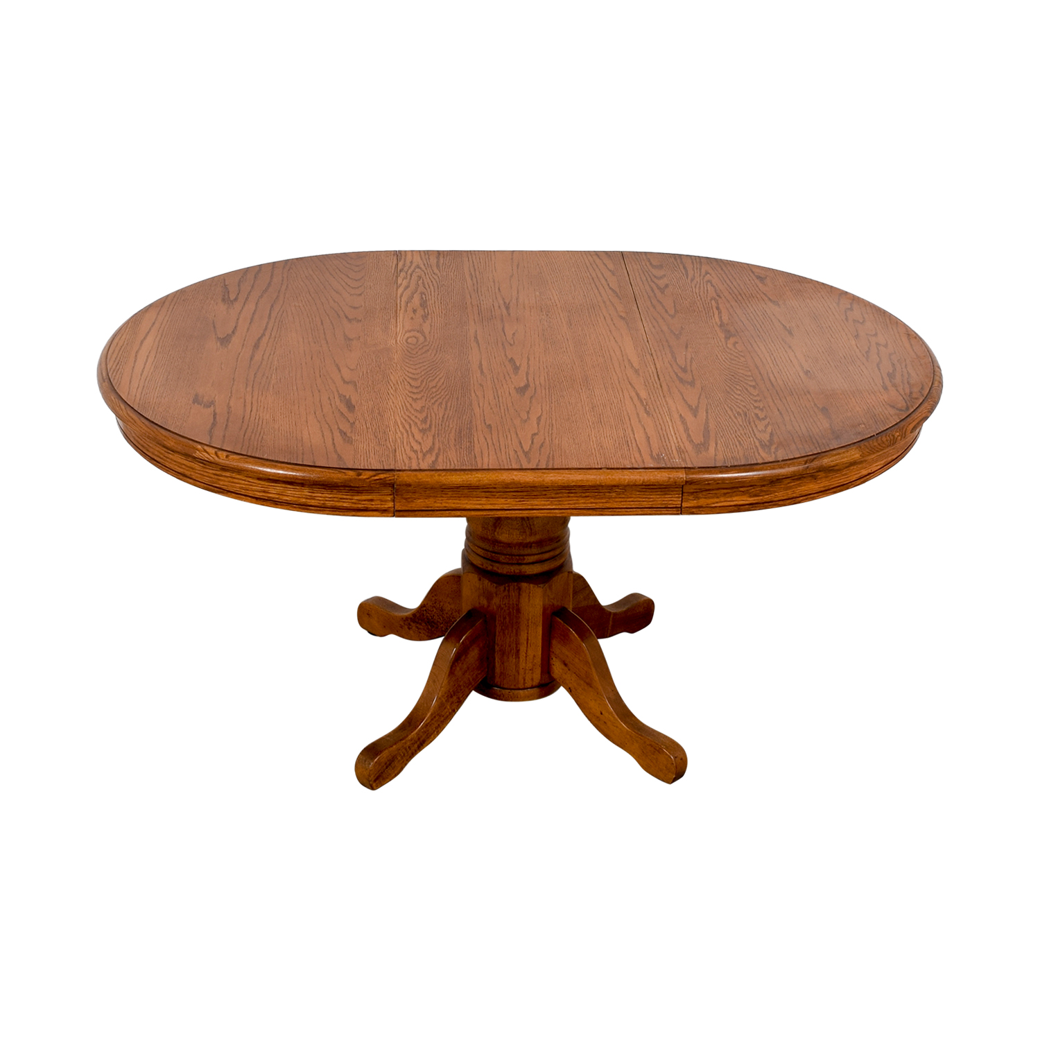 shop Poundex Poundex Round Wood Extendable Dining Table online