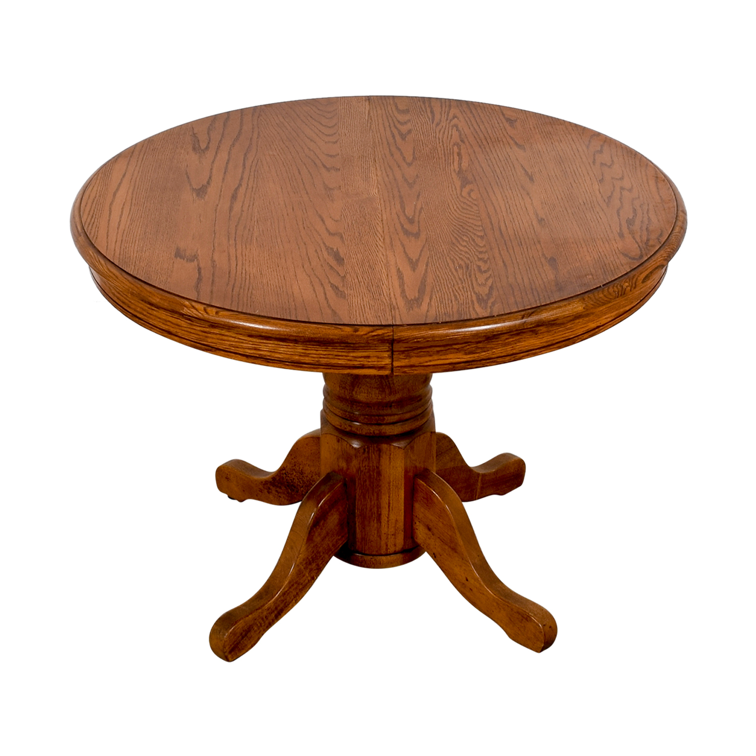 Poundex Round Wood Extendable Dining Table / Dinner Tables