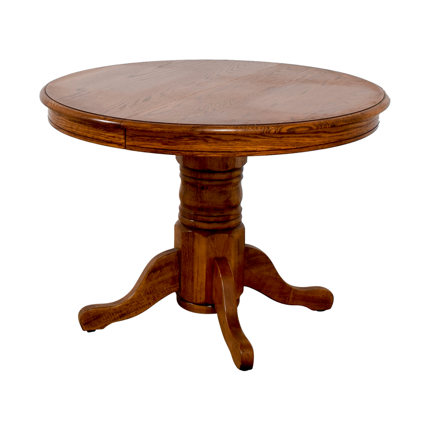 Poundex Poundex Round Wood Extendable Dining Table