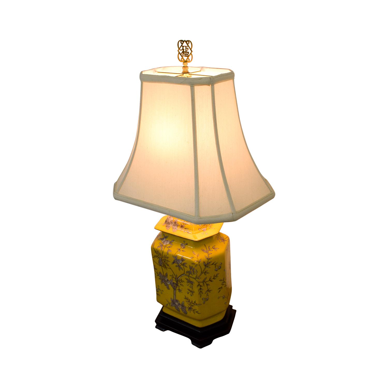 buy Yellow Fruit Chinese Lamp Decor