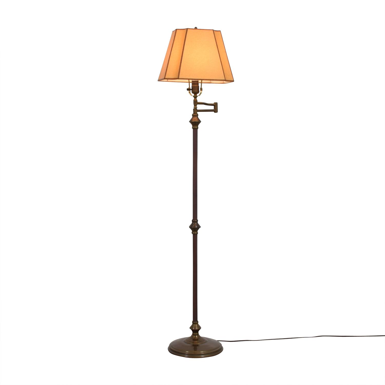 shop Connecticut Lighting Metal Floor Lamp Connecticut Lighting Lamps