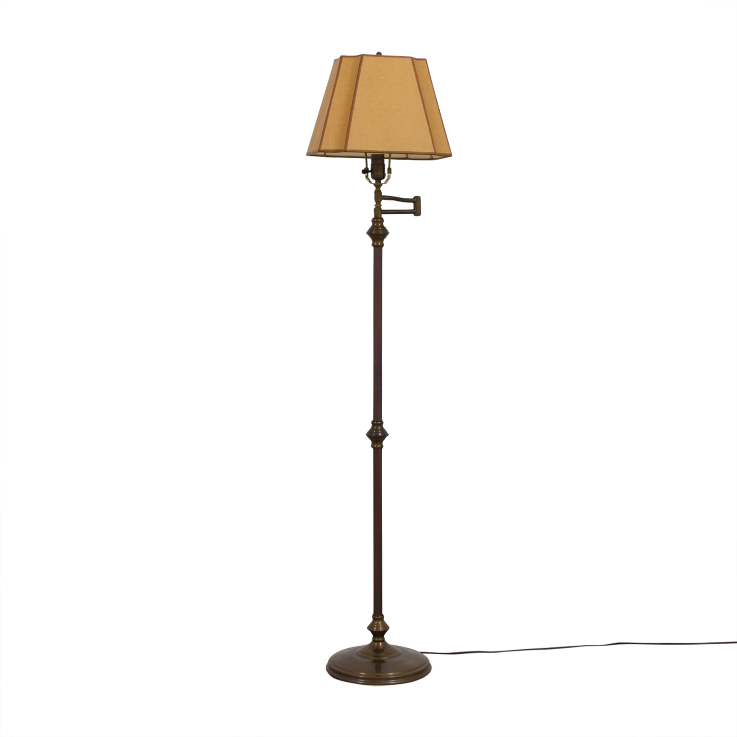 los angeles furniture metal orange floor red with lamp italian shade products