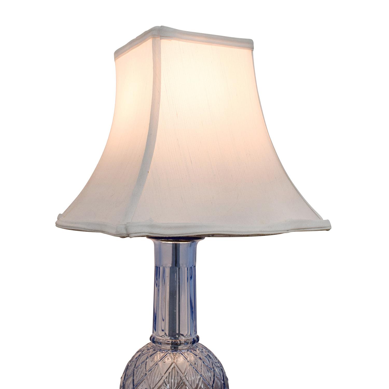 buy Blue Glass Lamp online