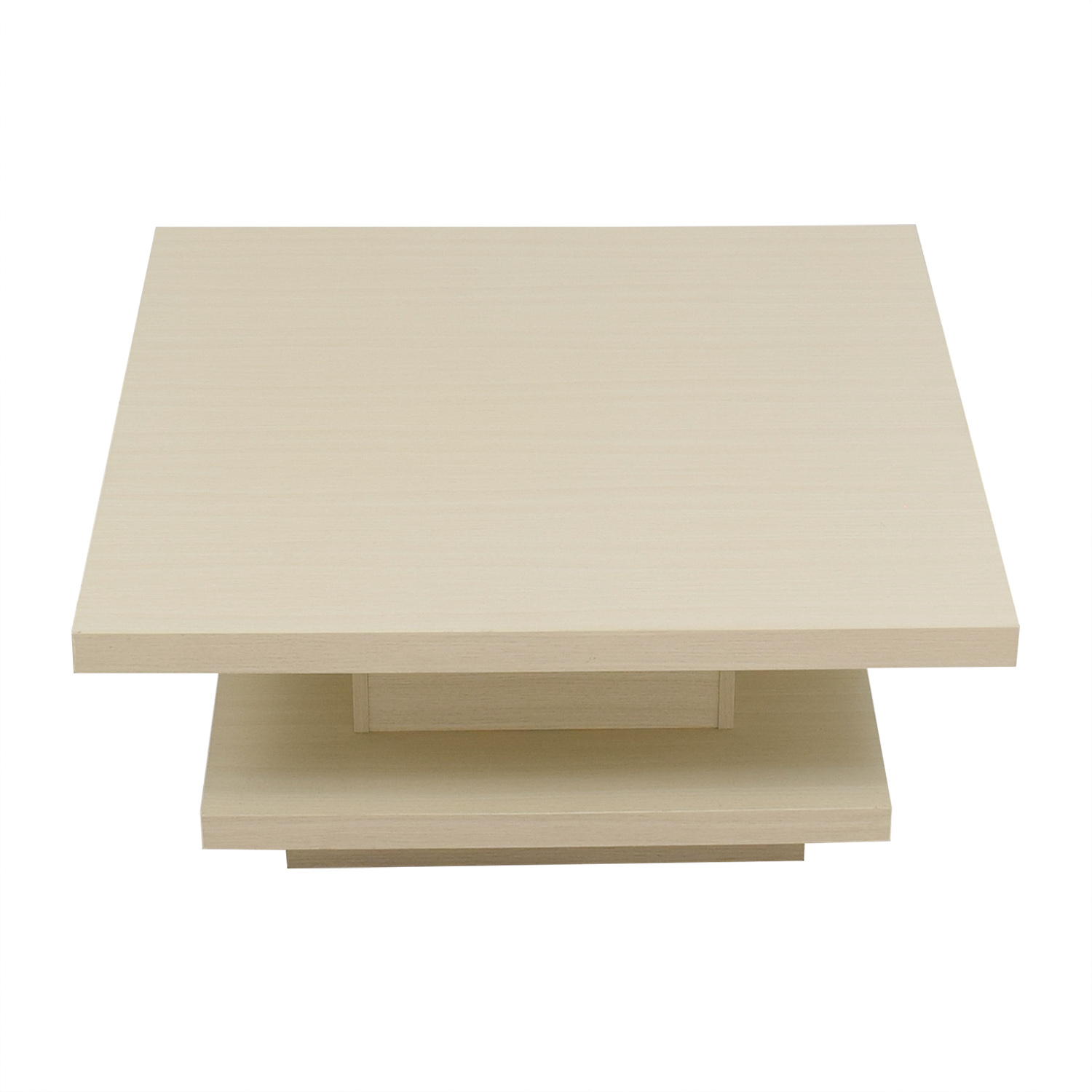 Furniture of America Furniture of America Modern Pagoda Ivory Coffee Table for sale