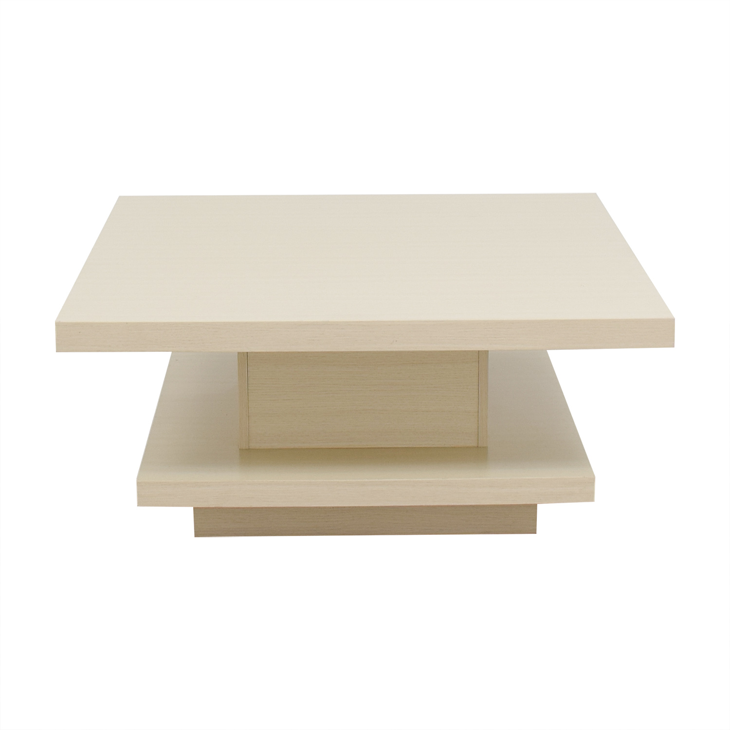 Furniture of America Modern Pagoda Ivory Coffee Table Furniture of America