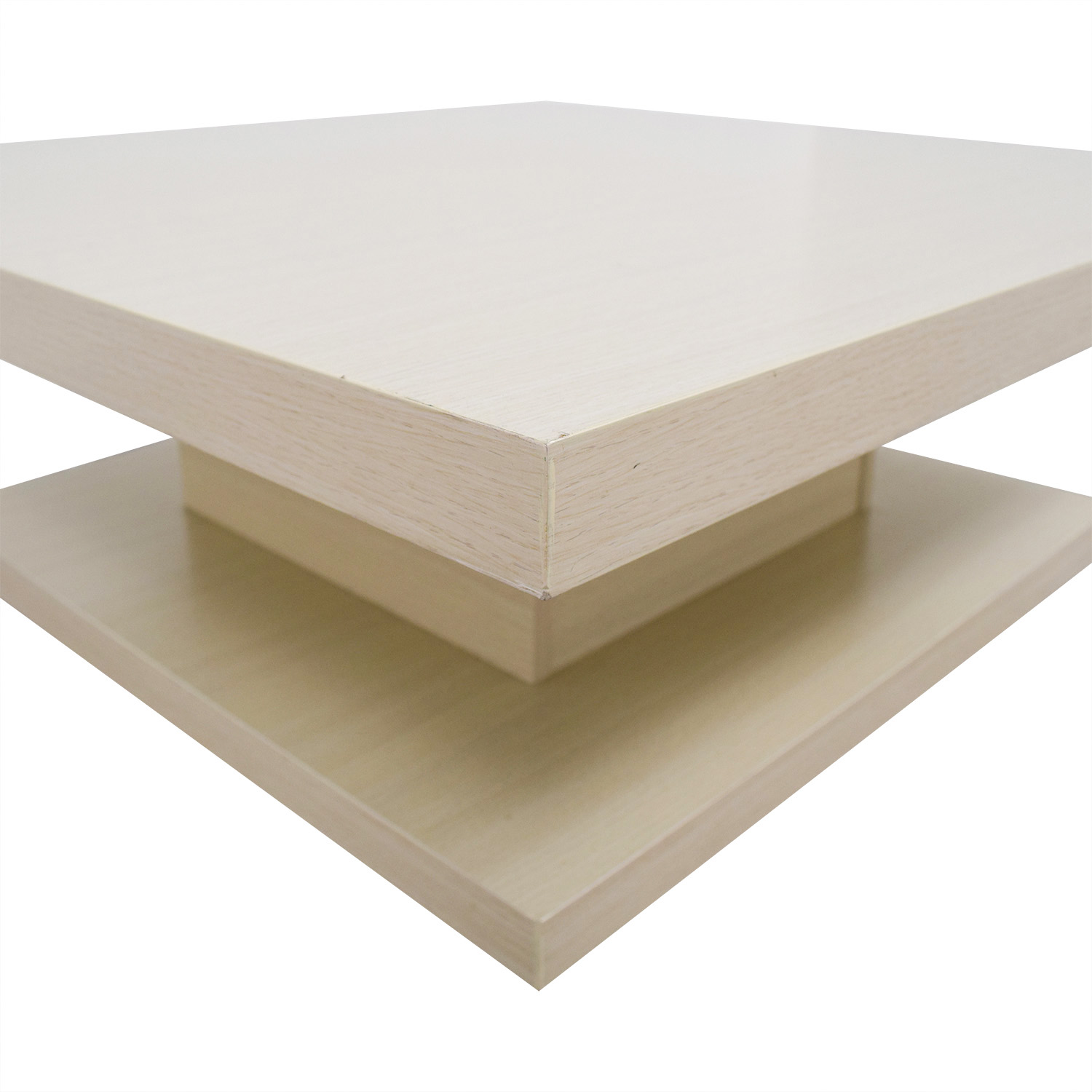 Furniture of America Furniture of America Modern Pagoda Ivory Coffee Table Beech
