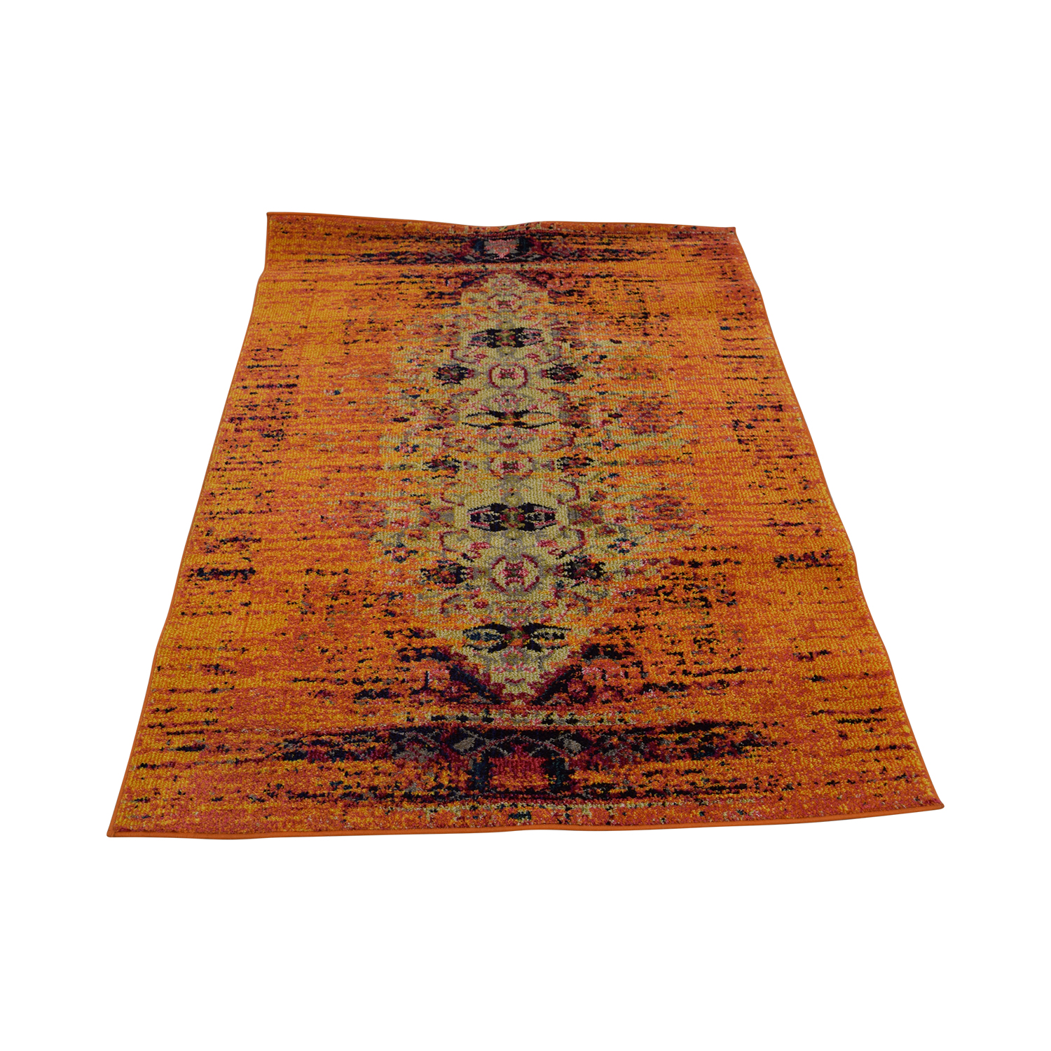 Safavieh Safavieh Vintage Distressed Orange Rug price