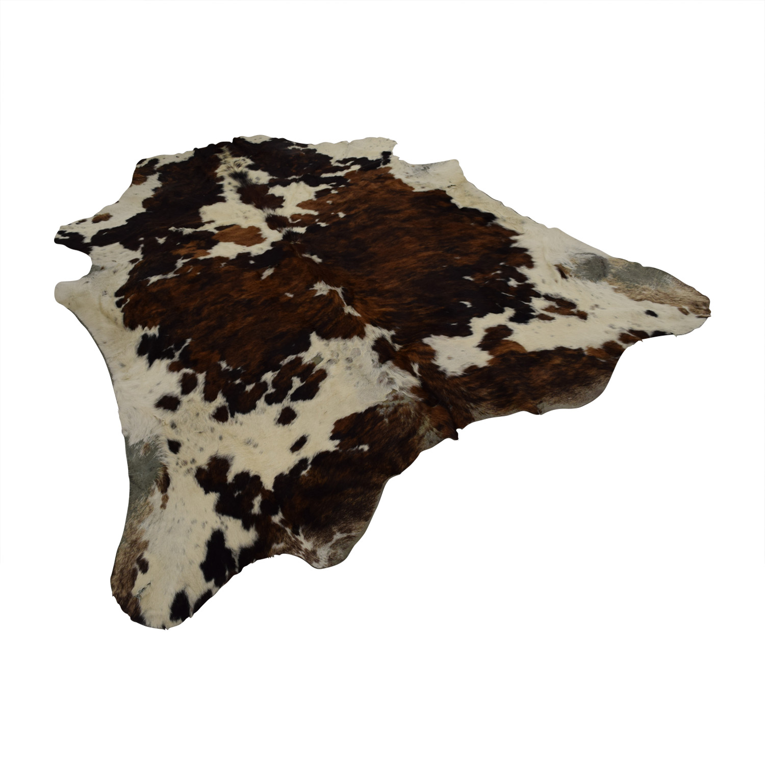shop Brown and White Cowhide Rug online