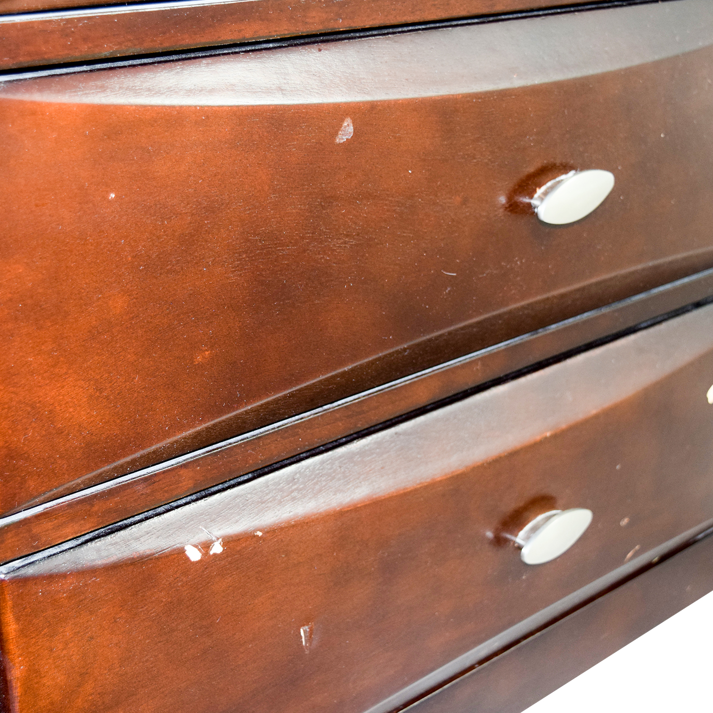 buy Dark Wood Eight-Drawer Dresser Dressers