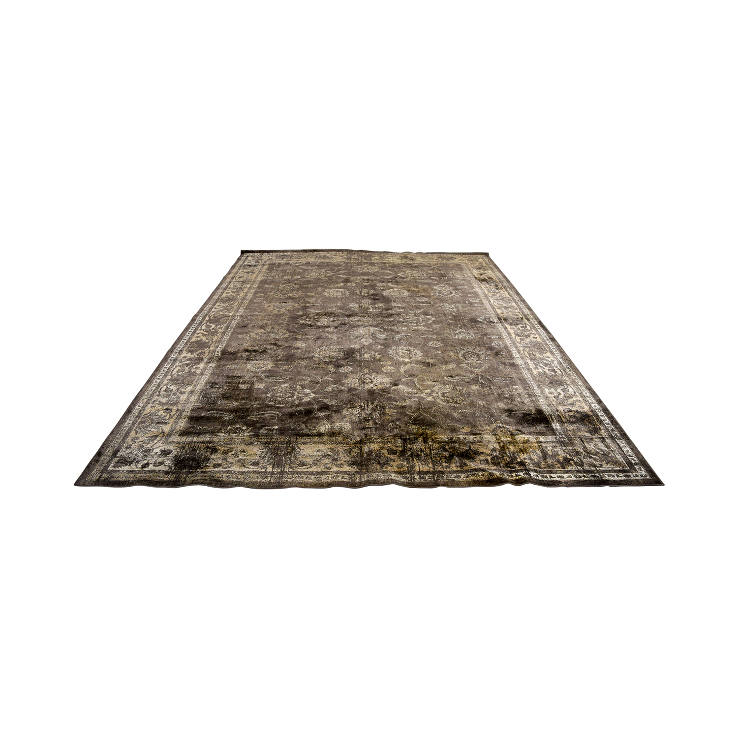 Safavieh Gray and Tan Rug / Rugs