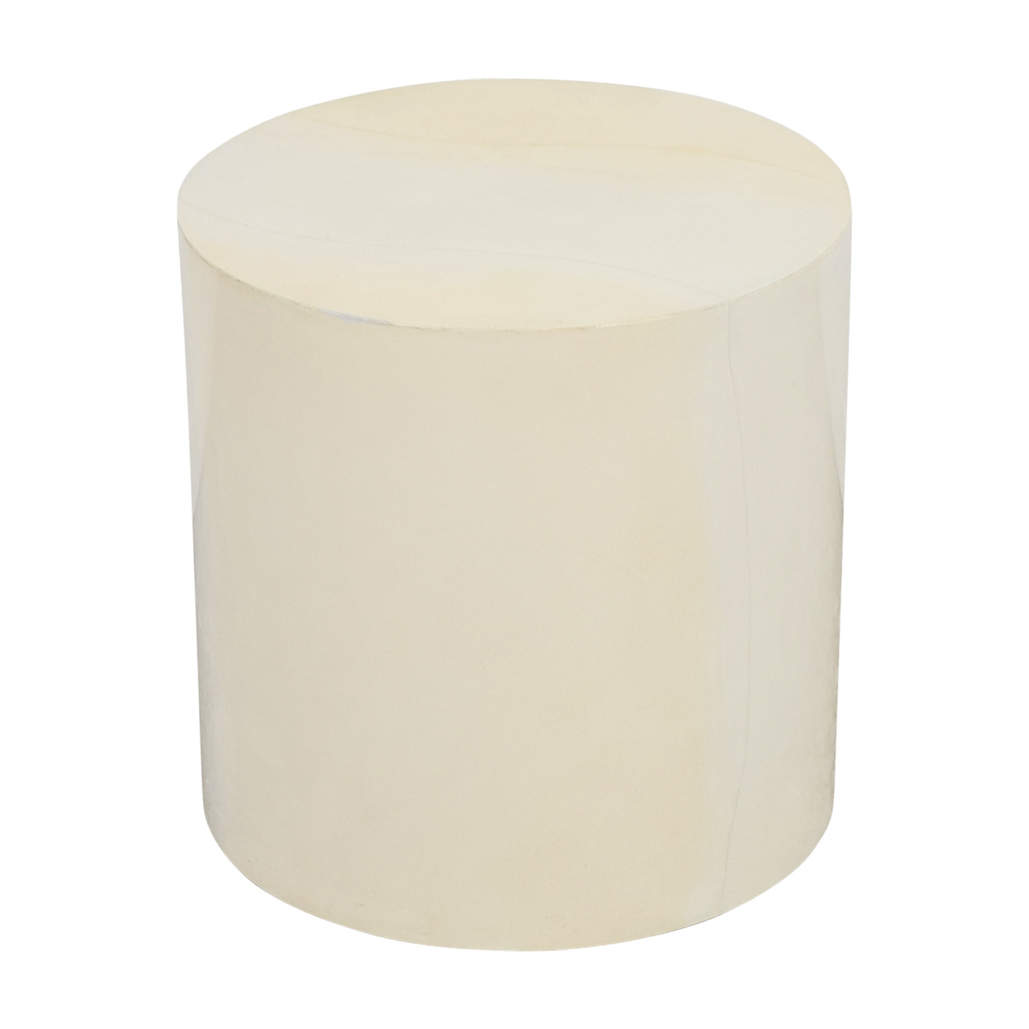 Lacquer Cylinder Accent Table coupon