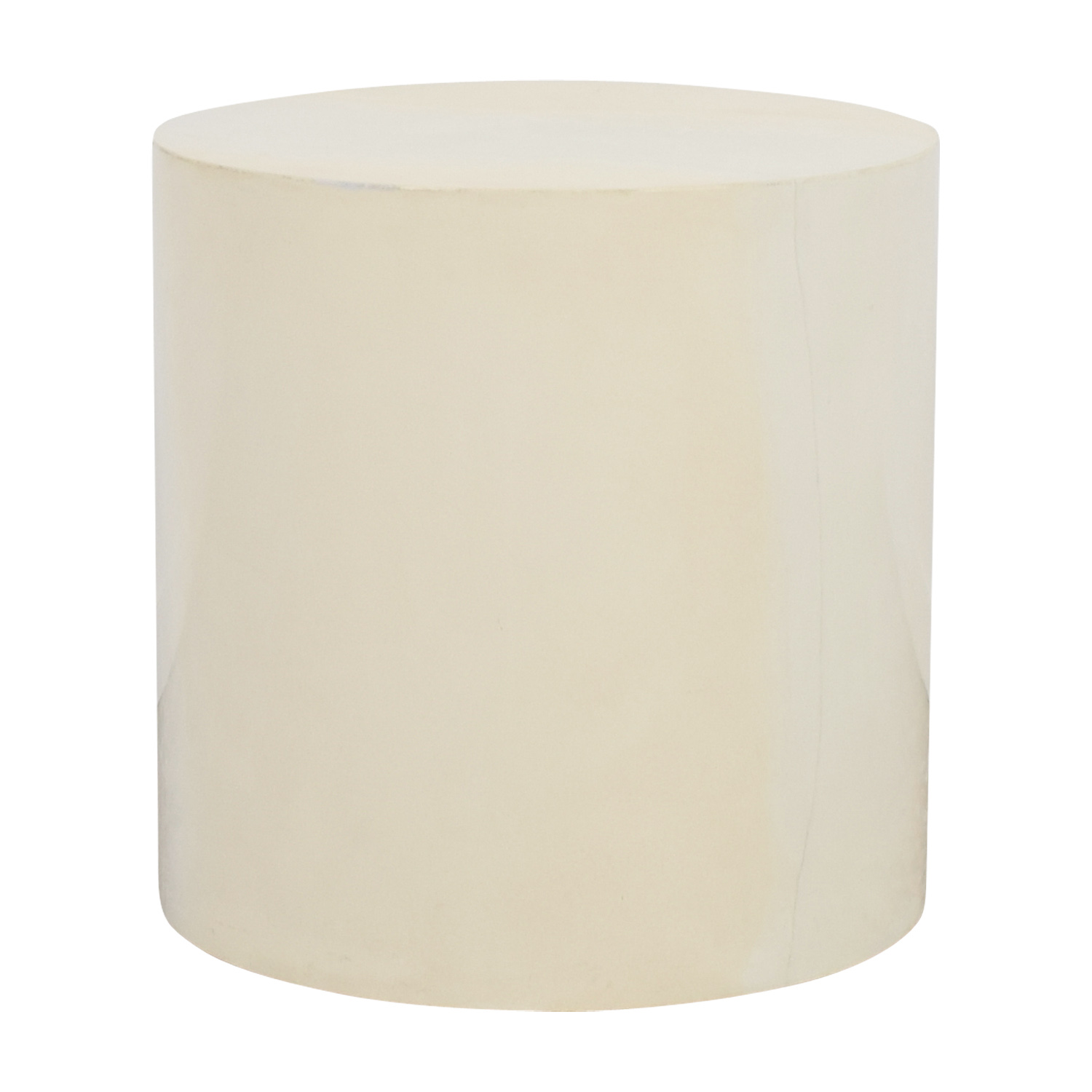 Lacquer Cylinder Accent Table discount