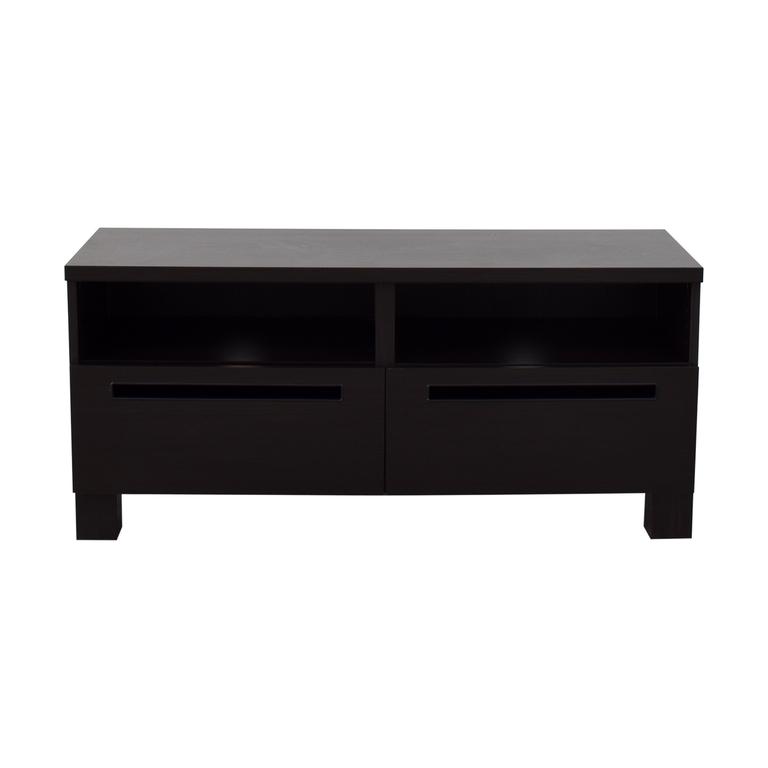 buy IKEA IKEA Brown Wood Media Cabinet online
