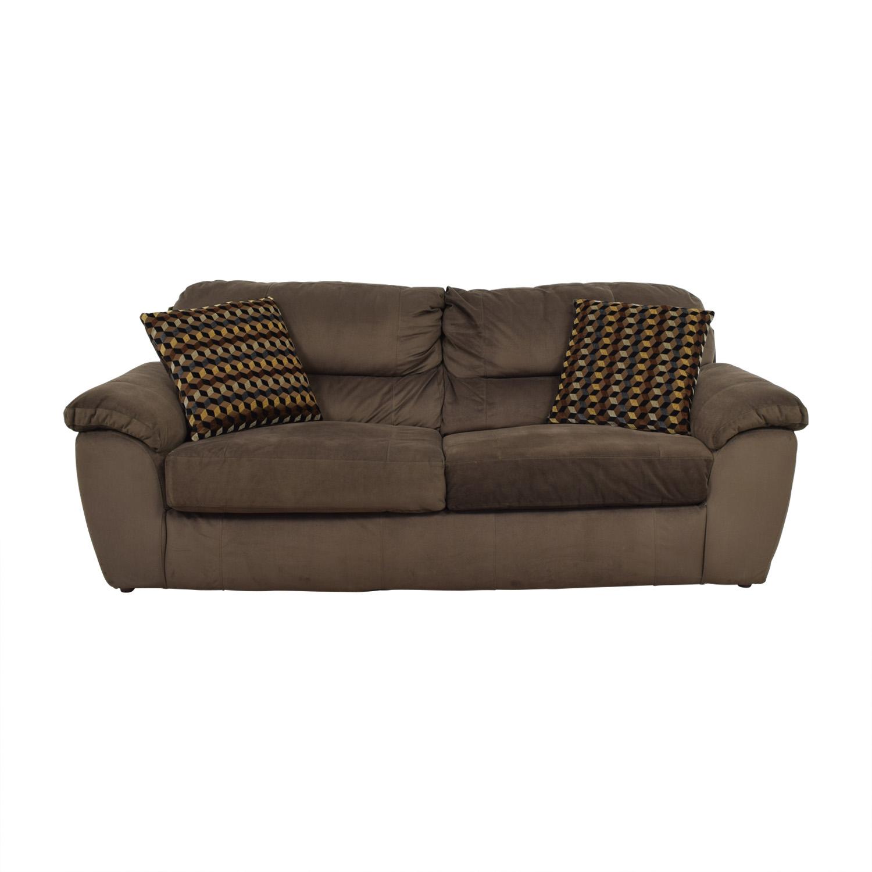 65 Off Bob S Discount Furniture Bob S Furniture Brown Bailey