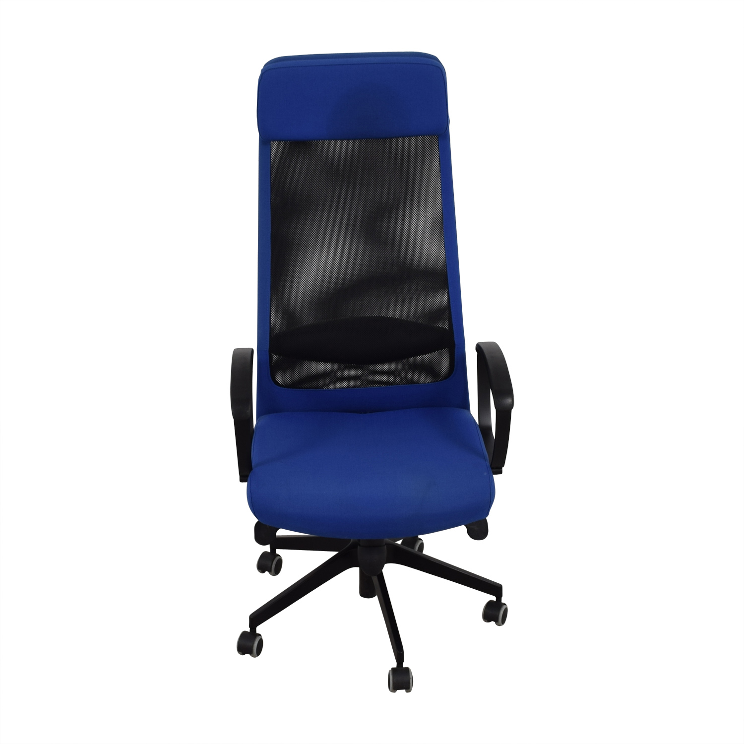 30% OFF IKEA IKEA Markus Blue Swivel Chair Chairs