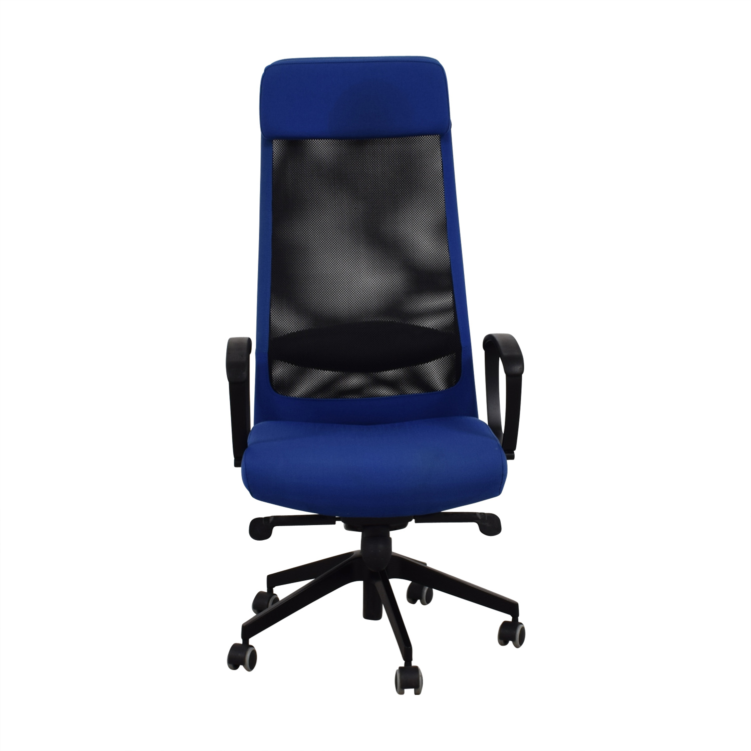 IKEA IKEA Markus Blue Swivel Chair Used ...