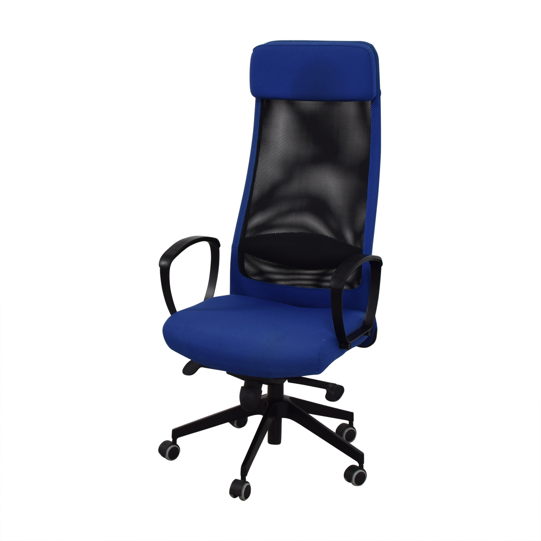 IKEA IKEA Markus Blue Swivel Chair nyc