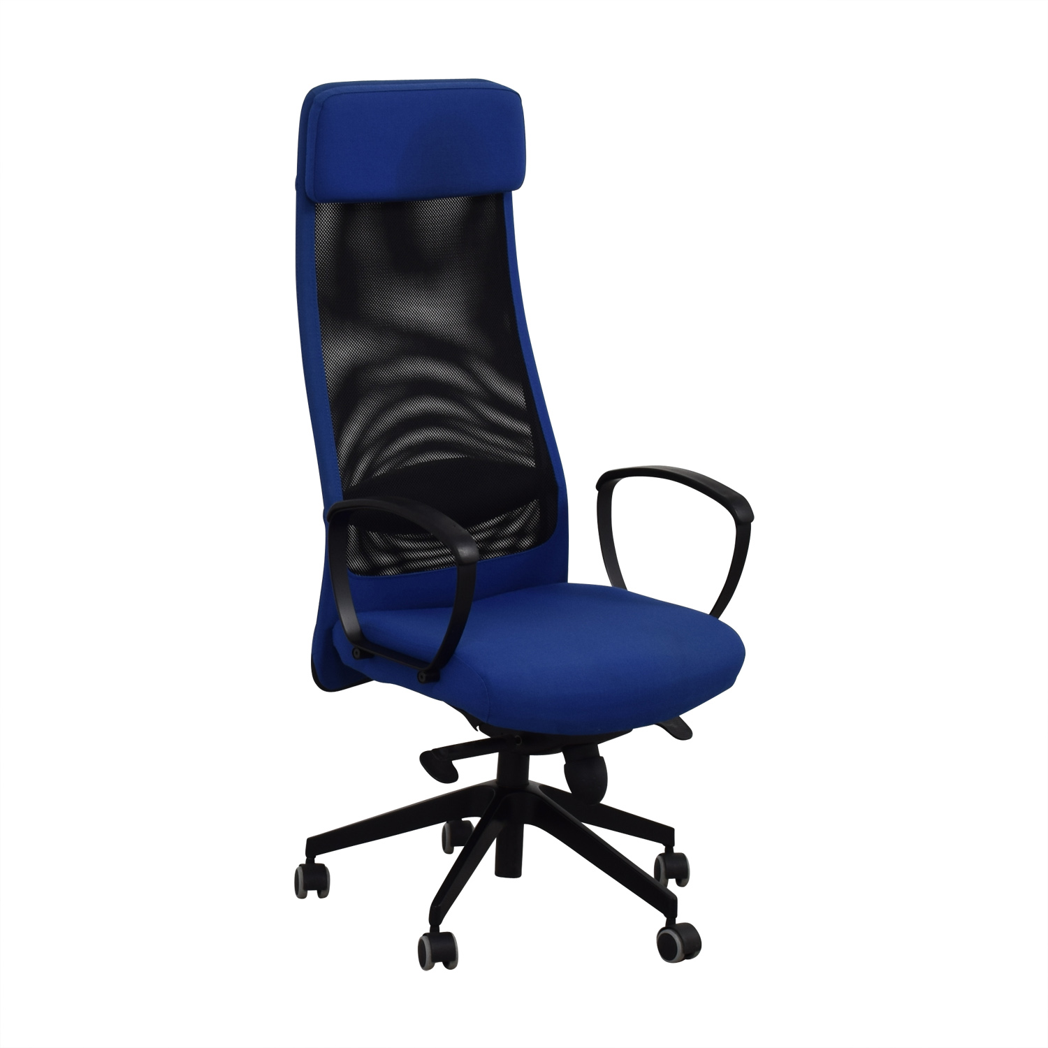 IKEA IKEA Markus Blue Swivel Chair Chairs