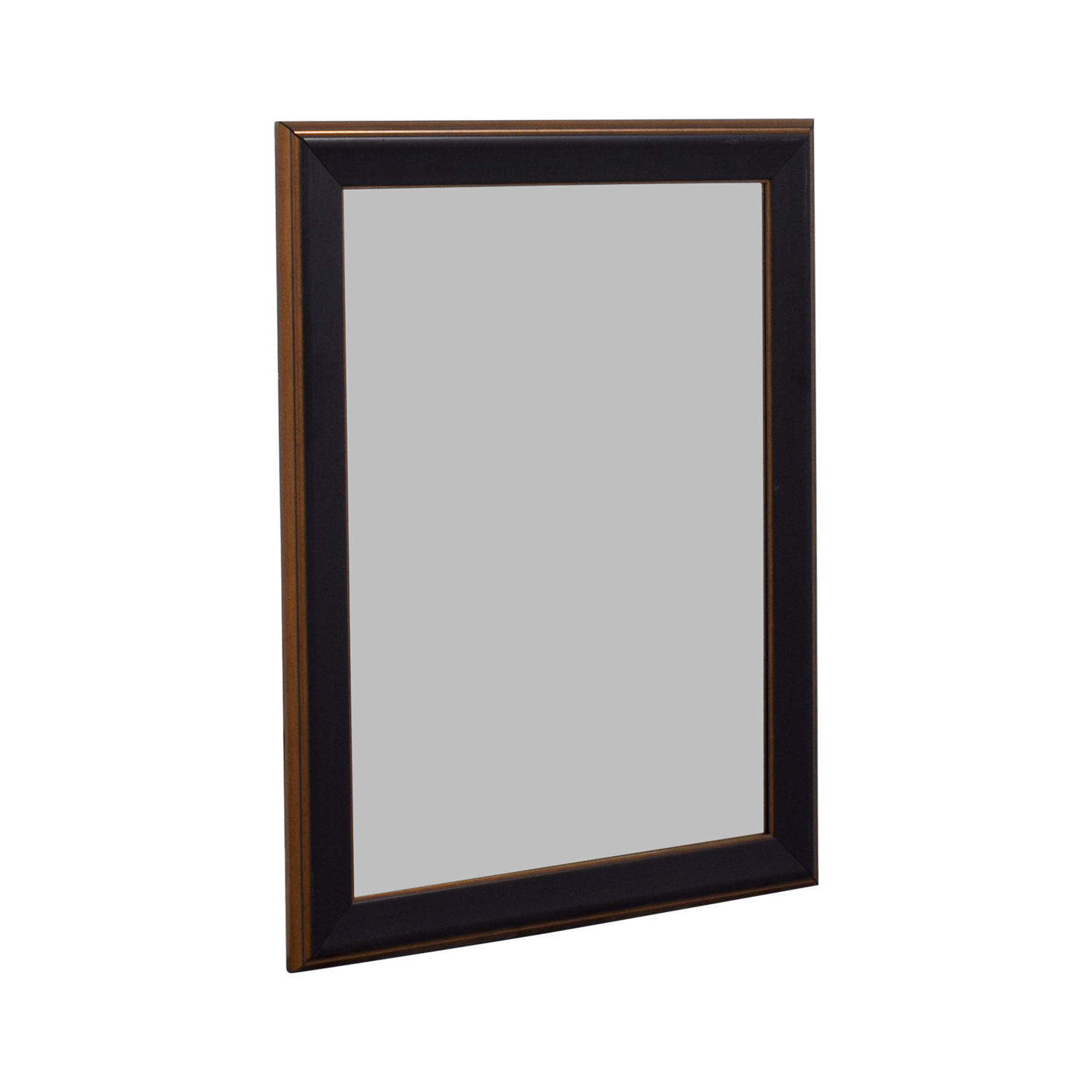 Wood Framed Mirror Decor