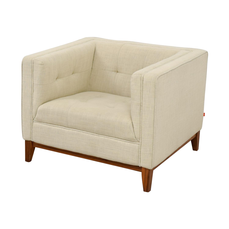 Gus Modern Tan Side Chair sale