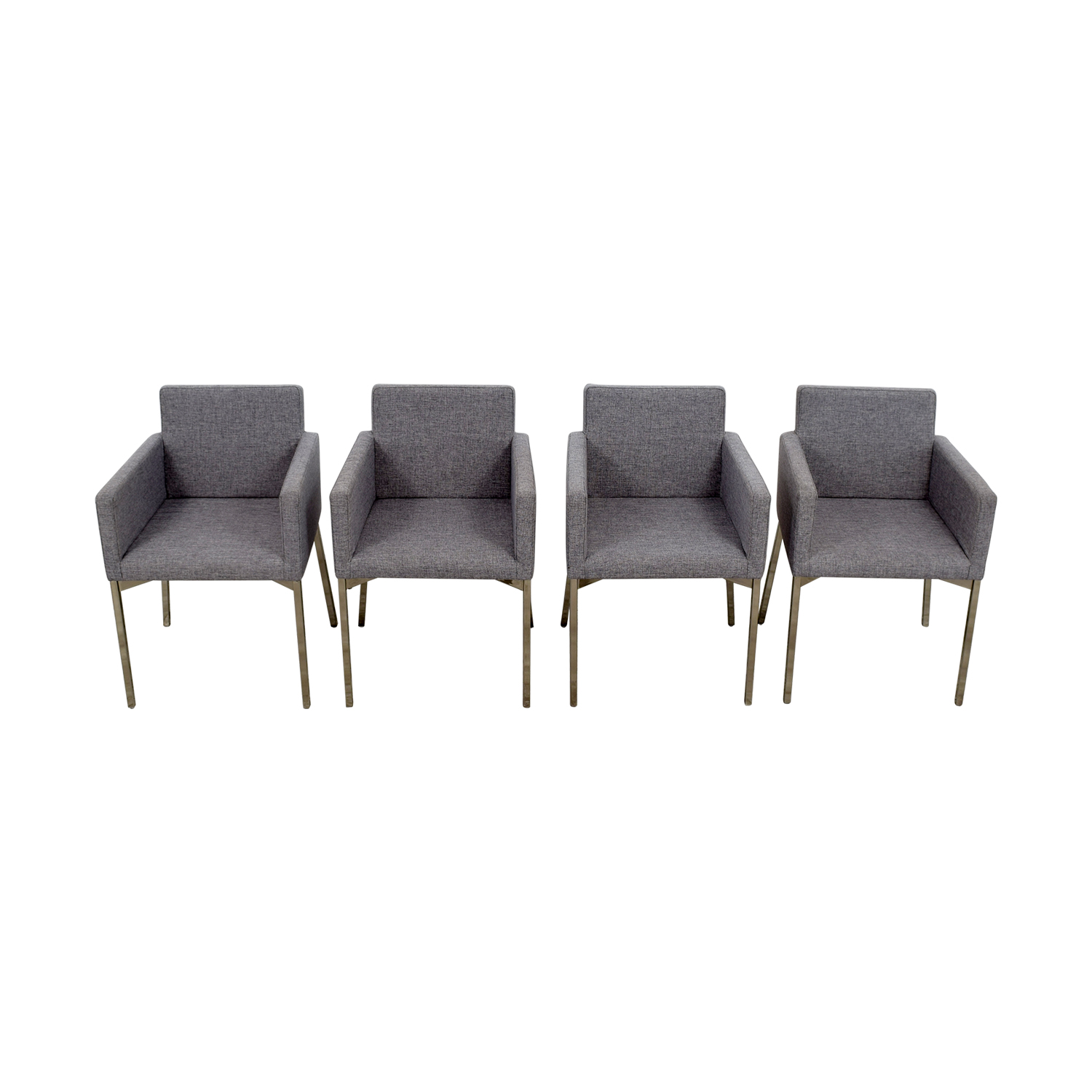 CB2 CB2 Gray Chairs on sale