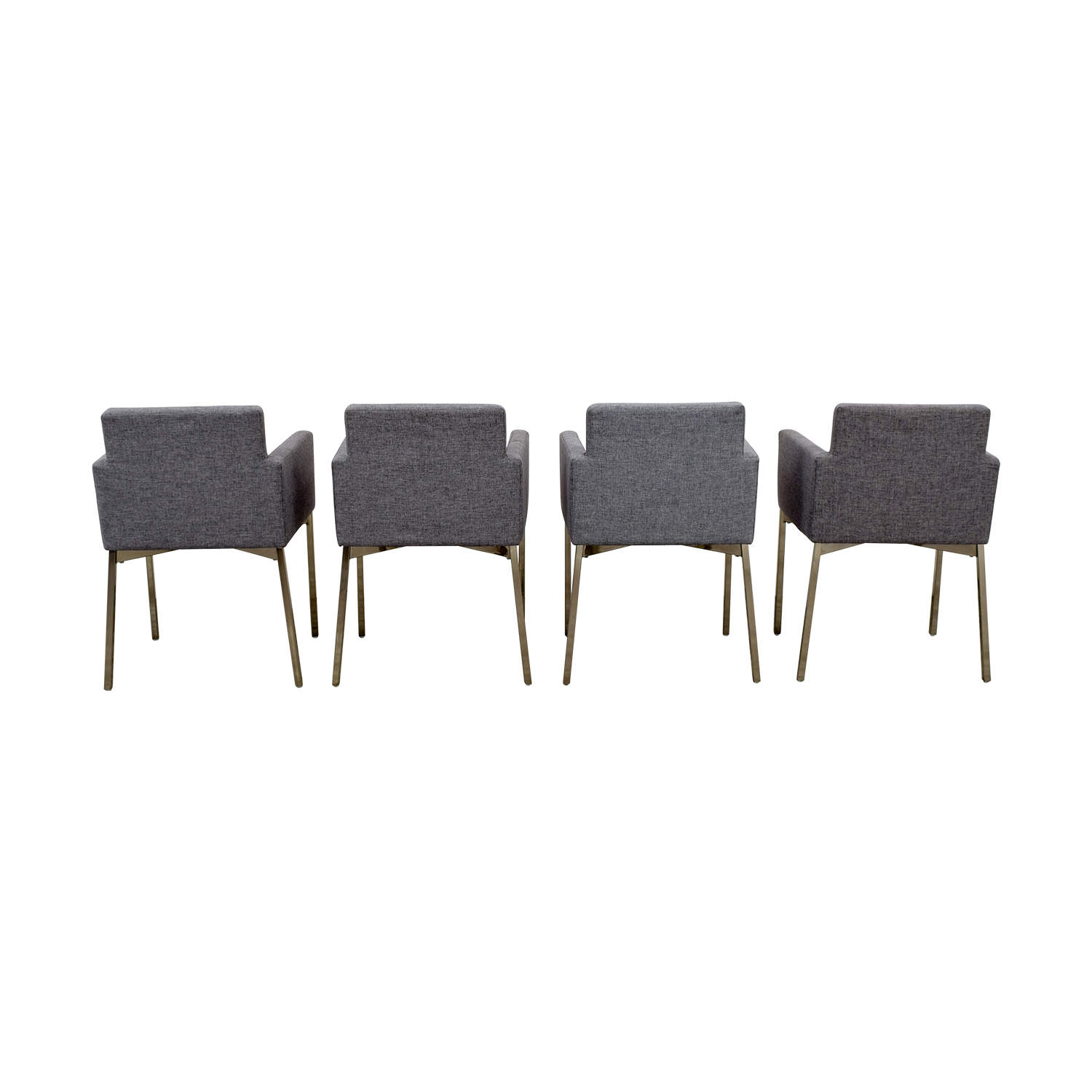 CB2 Gray Chairs sale