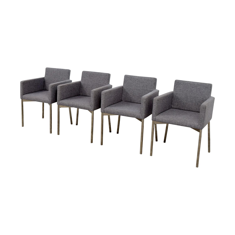 shop CB2 CB2 Gray Chairs online