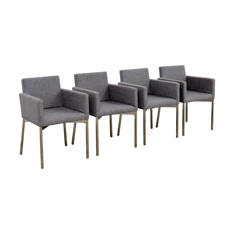 CB2 CB2 Gray Chairs price