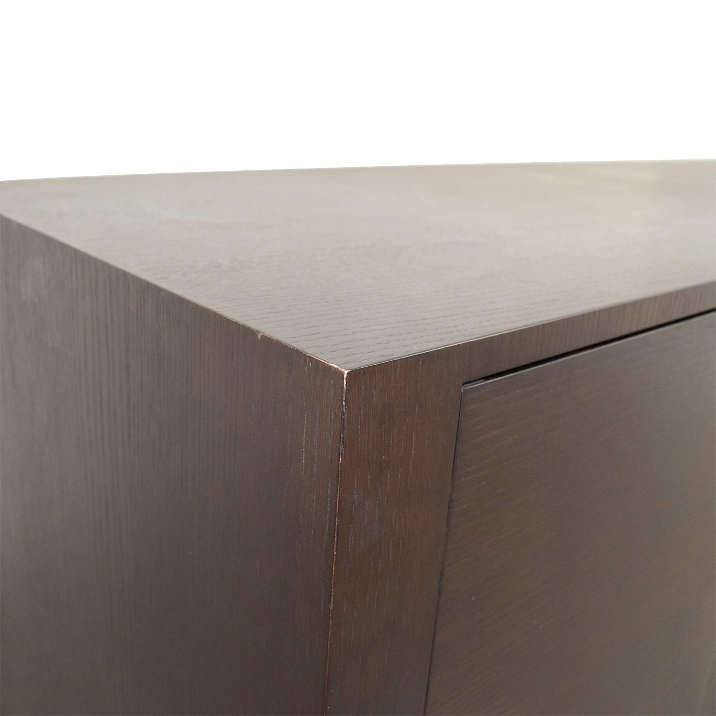 B&B Italia B&B Italia Max Alto Storage Wood Dresser dimensions