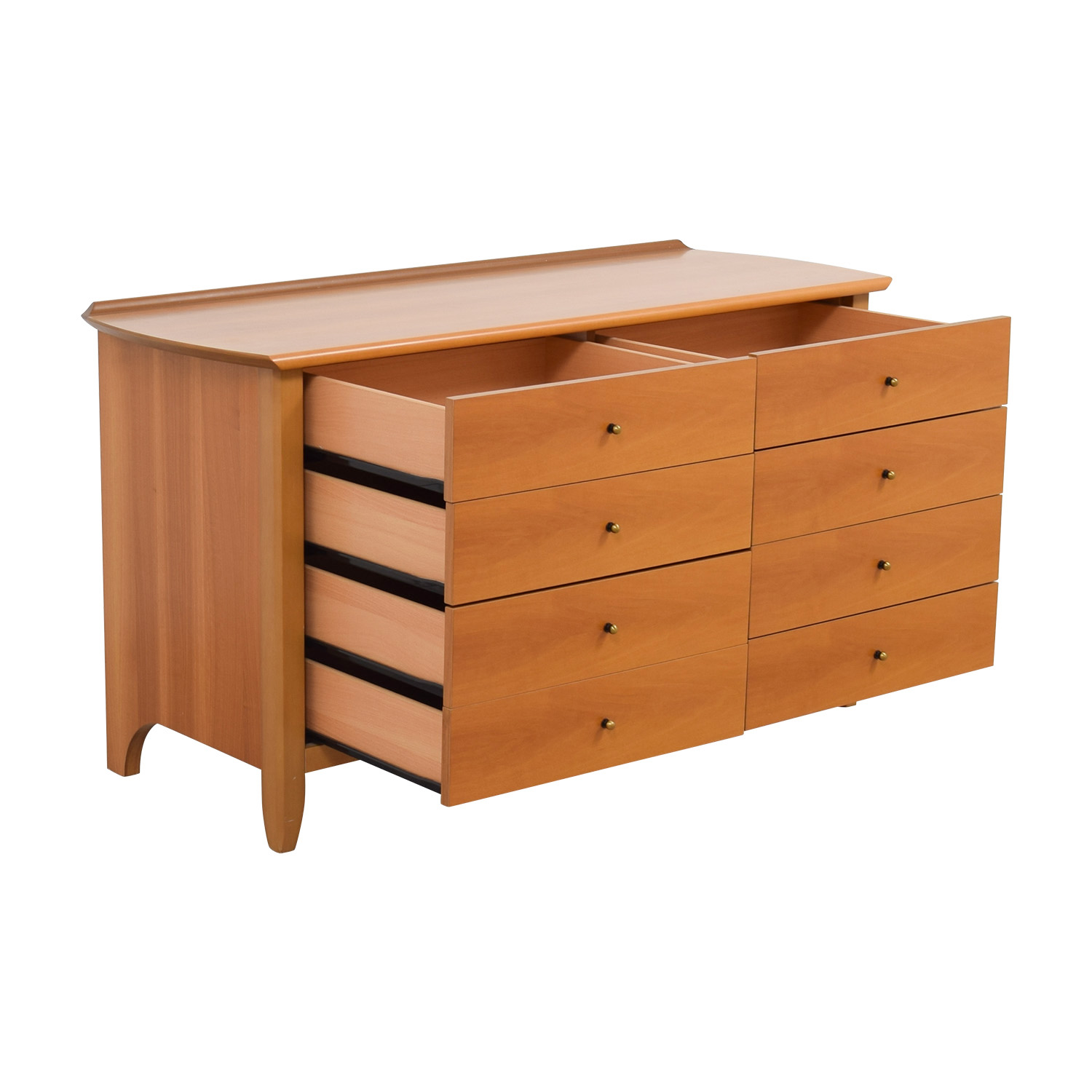 shop Eight-Drawer Solid Wood Dresser Dressers