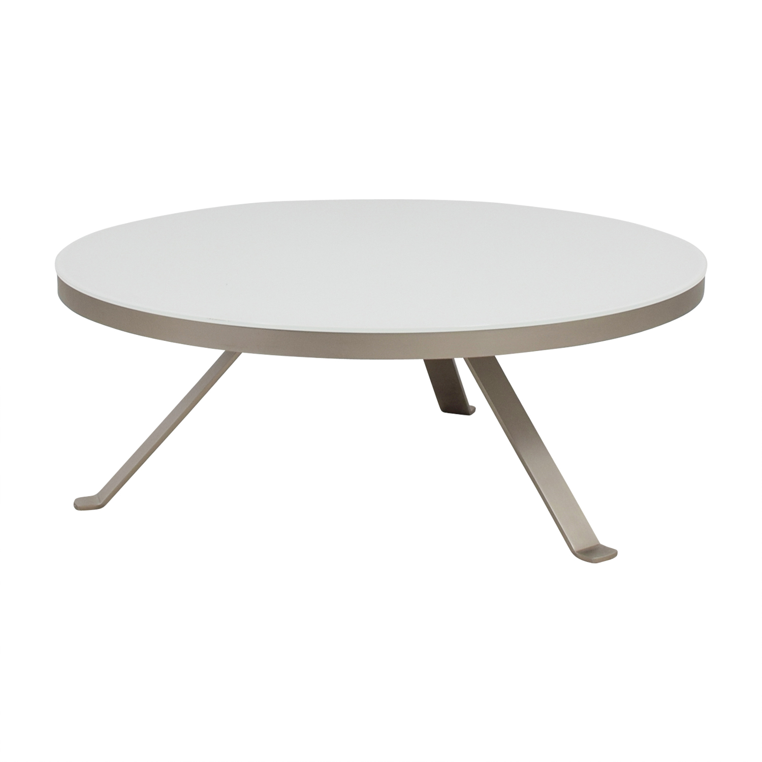 shop Bo Concept White Round Coffee Table Bo Concept Tables