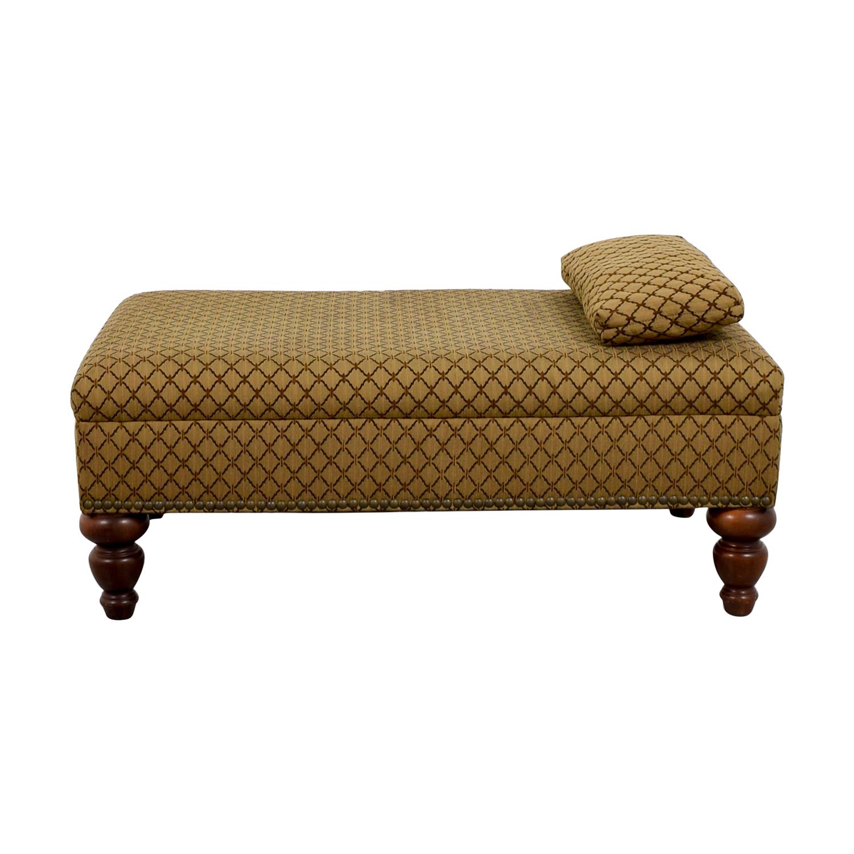Pleasing 90 Off Custom Transitional Brown Ottoman Chairs Inzonedesignstudio Interior Chair Design Inzonedesignstudiocom