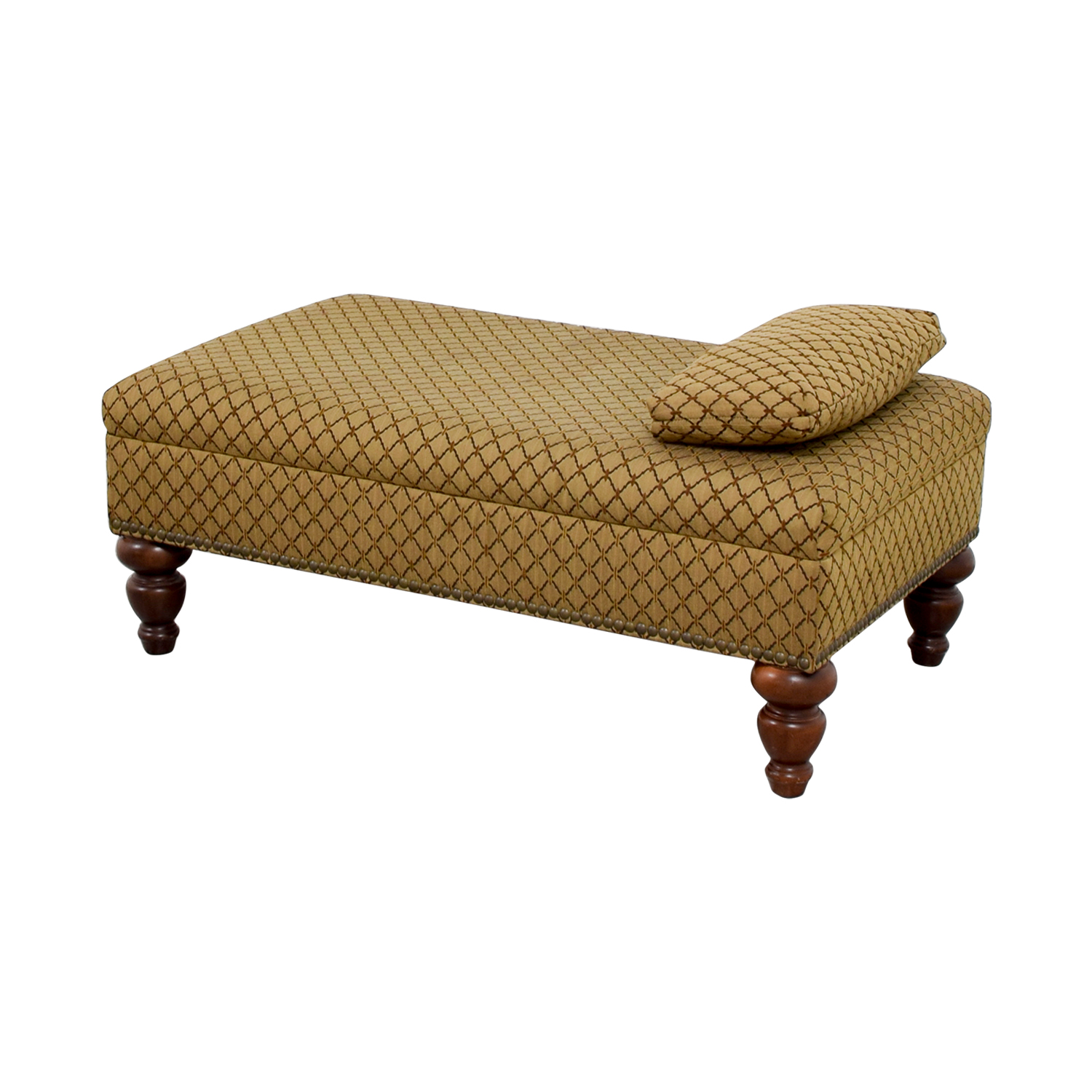 shop Custom Transitional Brown Ottoman Chairs