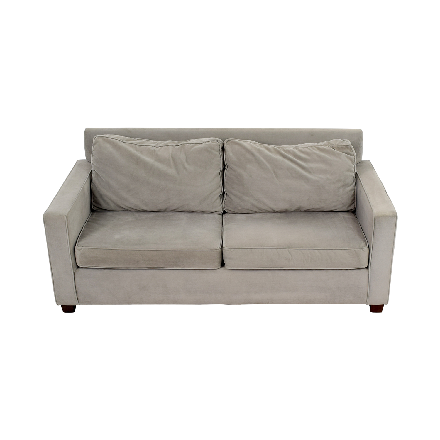 47% OFF West Elm West Elm Henry Grey Sofa Sofas