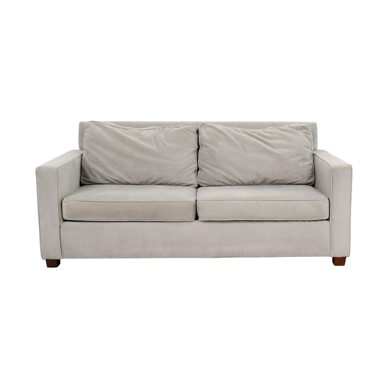 West Elm West Elm Henry Grey Sofa Classic Sofas