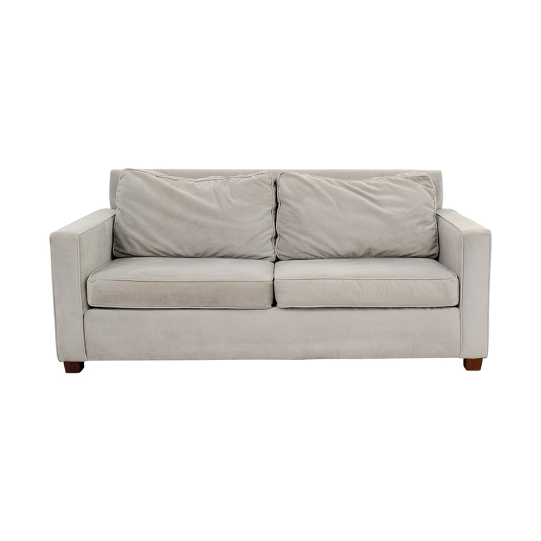 buy West Elm Henry Grey Sofa West Elm