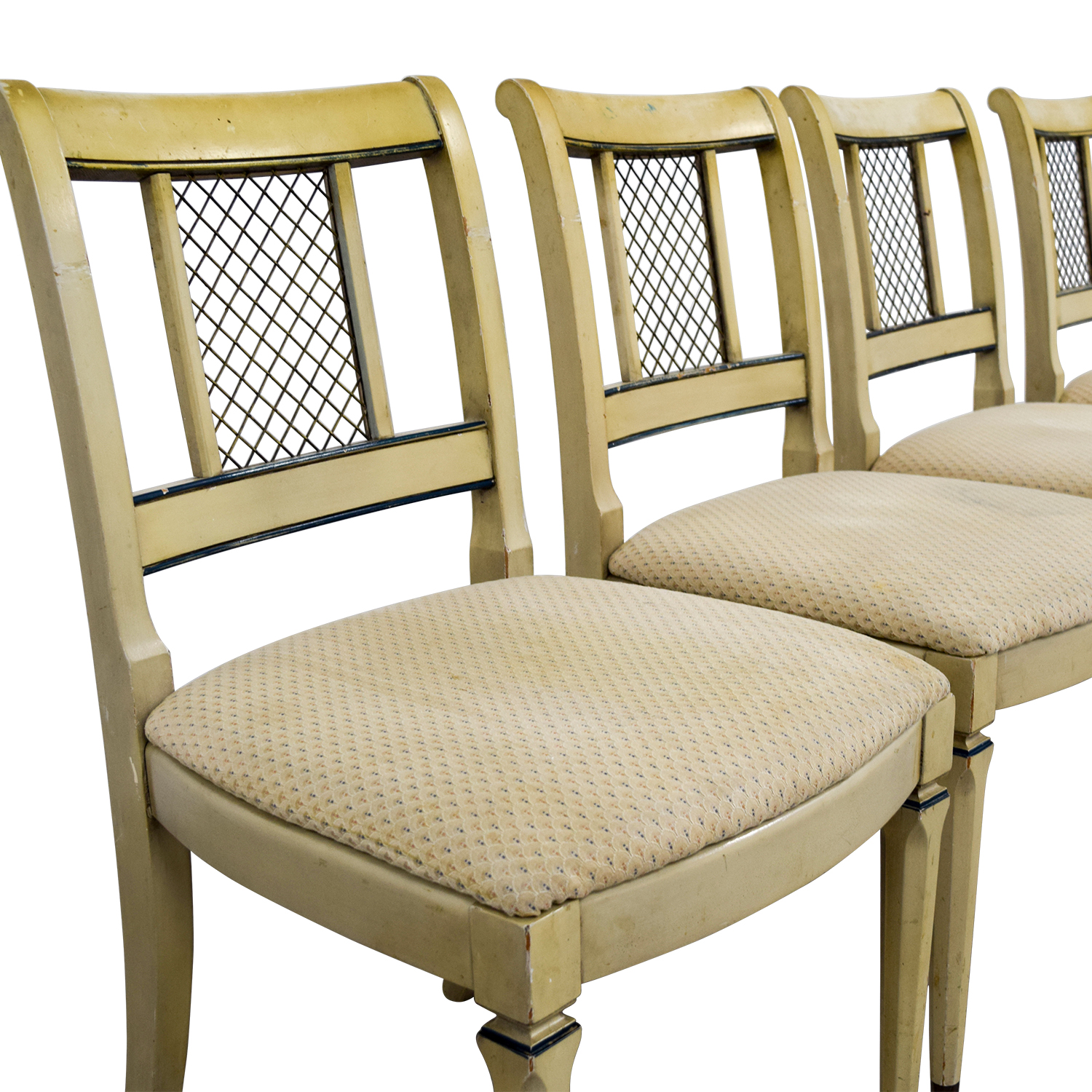 buy Vintage Tan Dining Chairs Dining Chairs