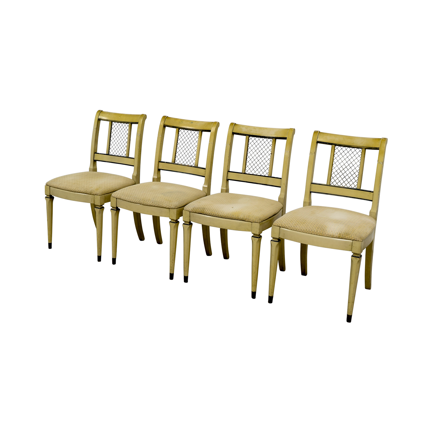 buy Vintage Tan Dining Chairs online