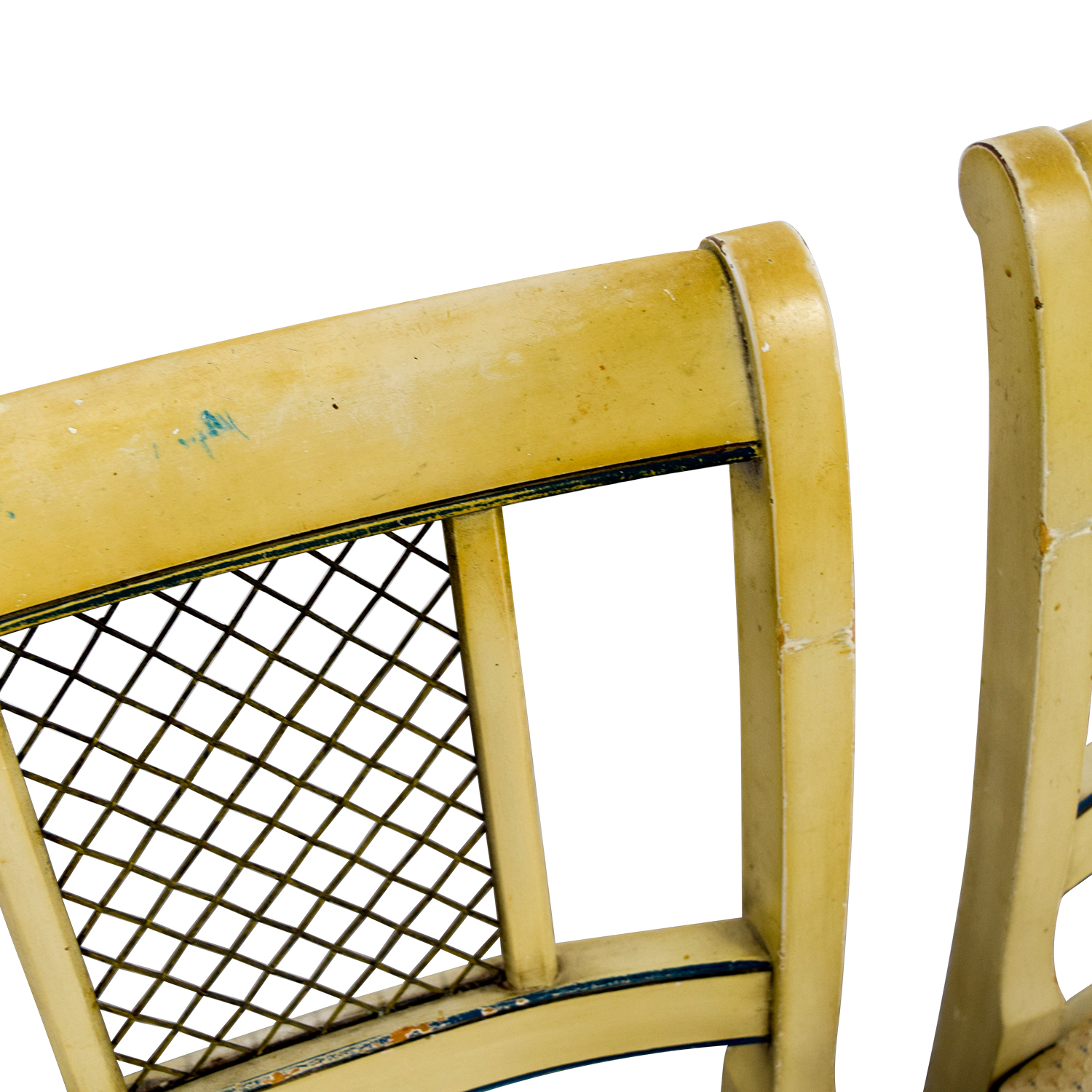 Vintage Tan Dining Chairs / Chairs