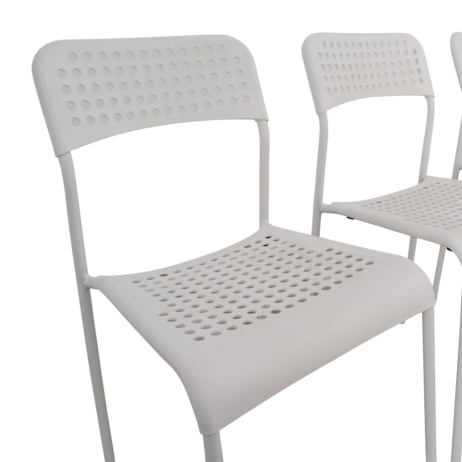 69 off ikea ikea white chairs chairs for Ikea white chair