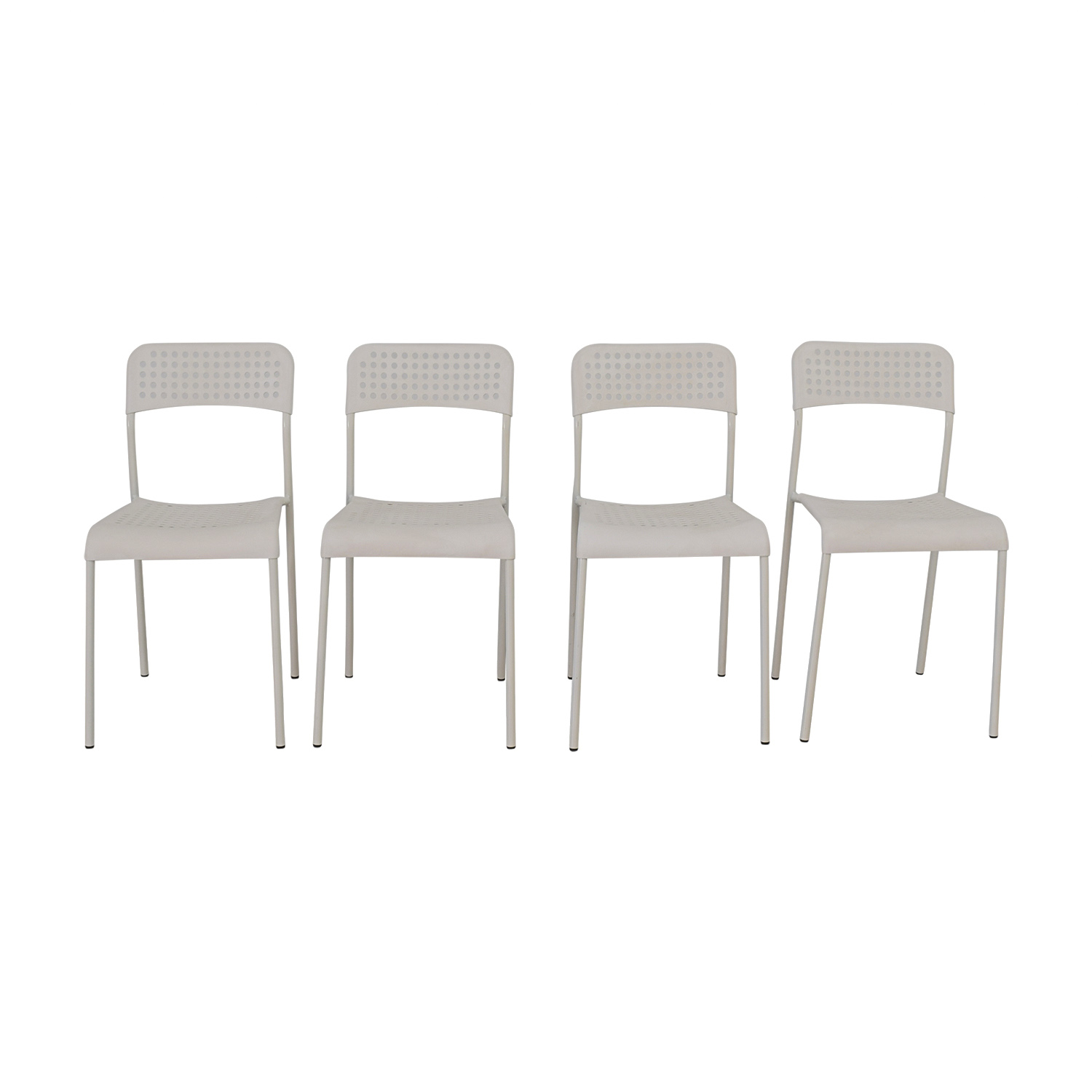 69 OFF IKEA IKEA White Chairs Chairs