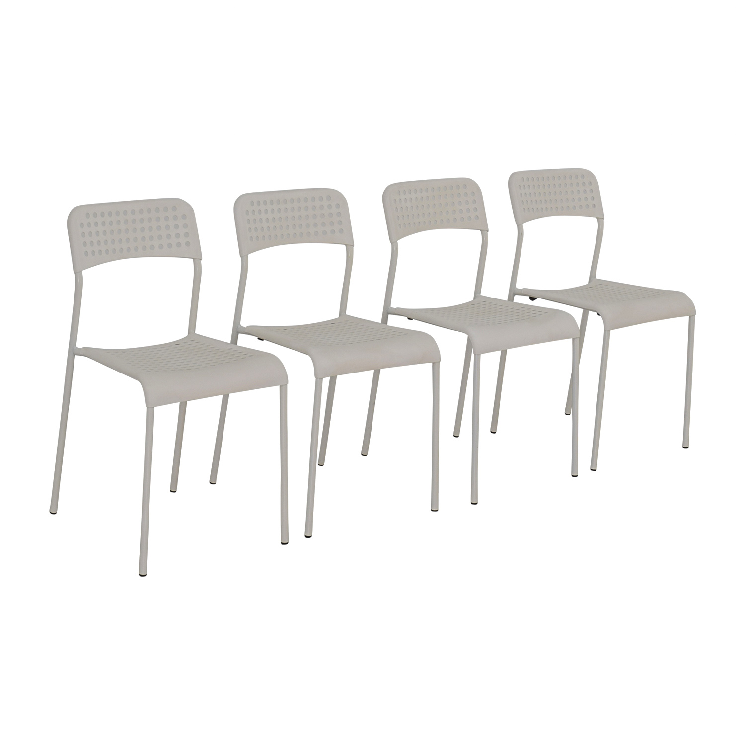 69 off ikea ikea white chairs chairs - Ikea white dining chairs ...