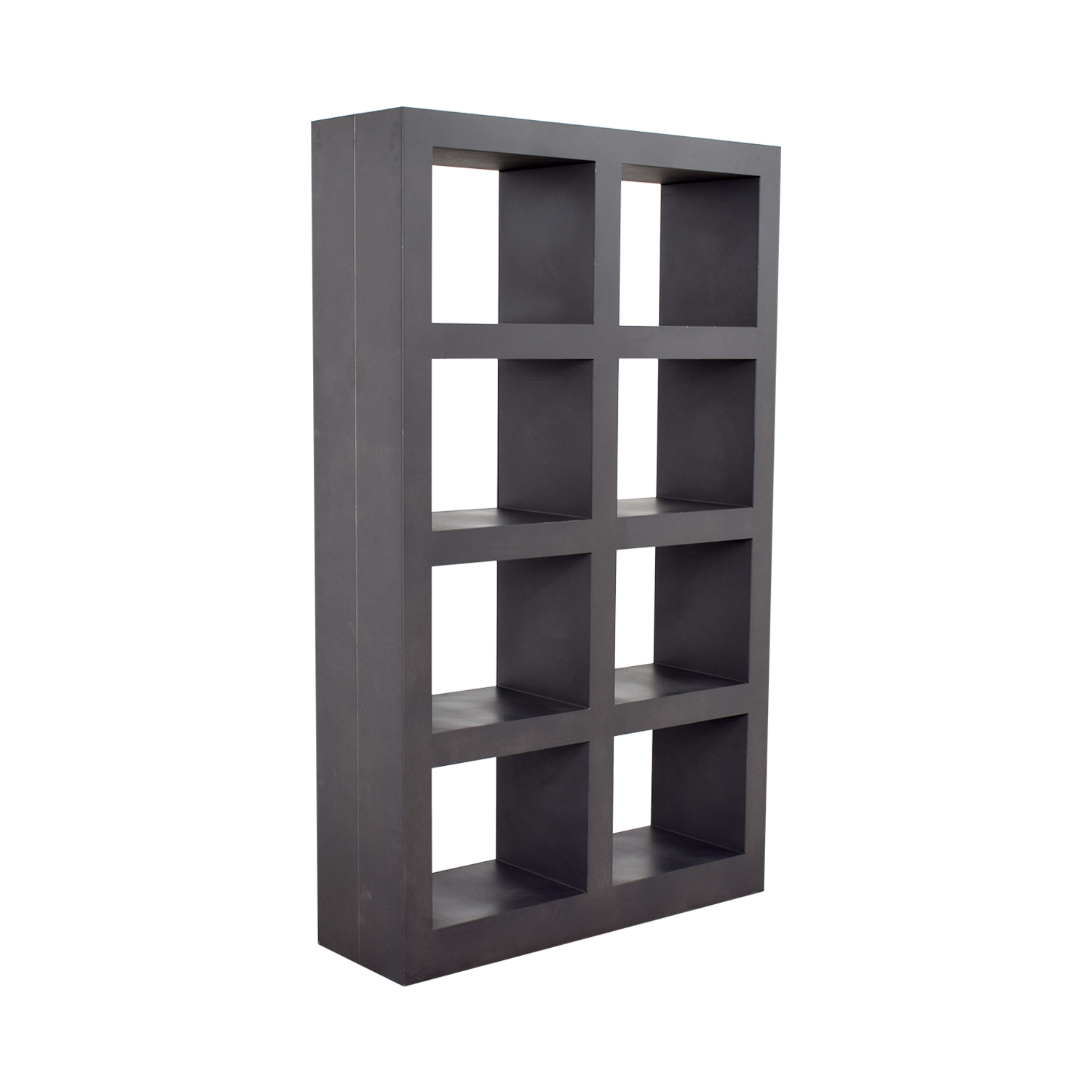 shop Crate & Barrel Shadow Box Bookcase Crate & Barrel
