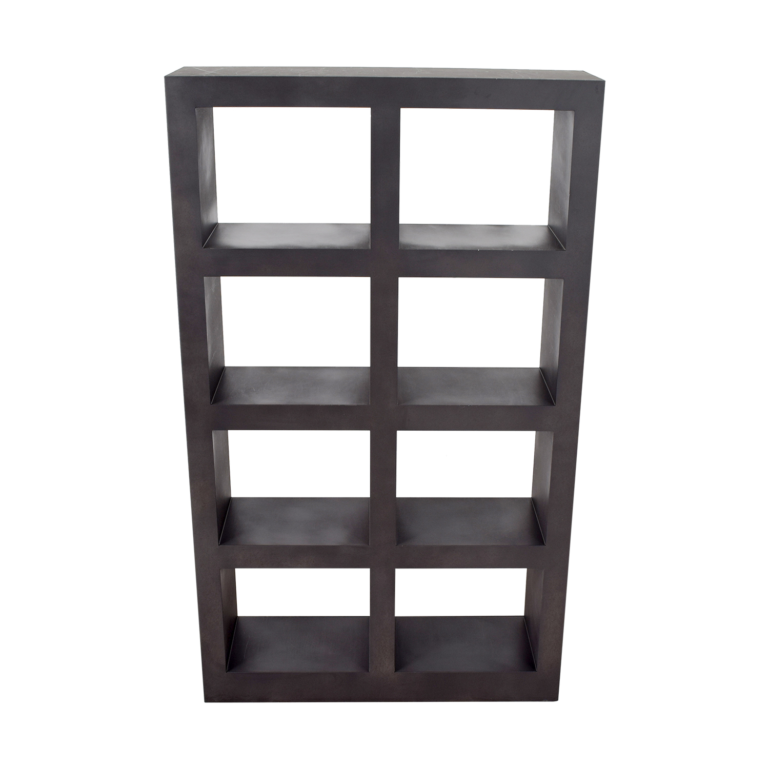 buy Crate & Barrel Shadow Box Bookcase Crate & Barrel Bookcases & Shelving