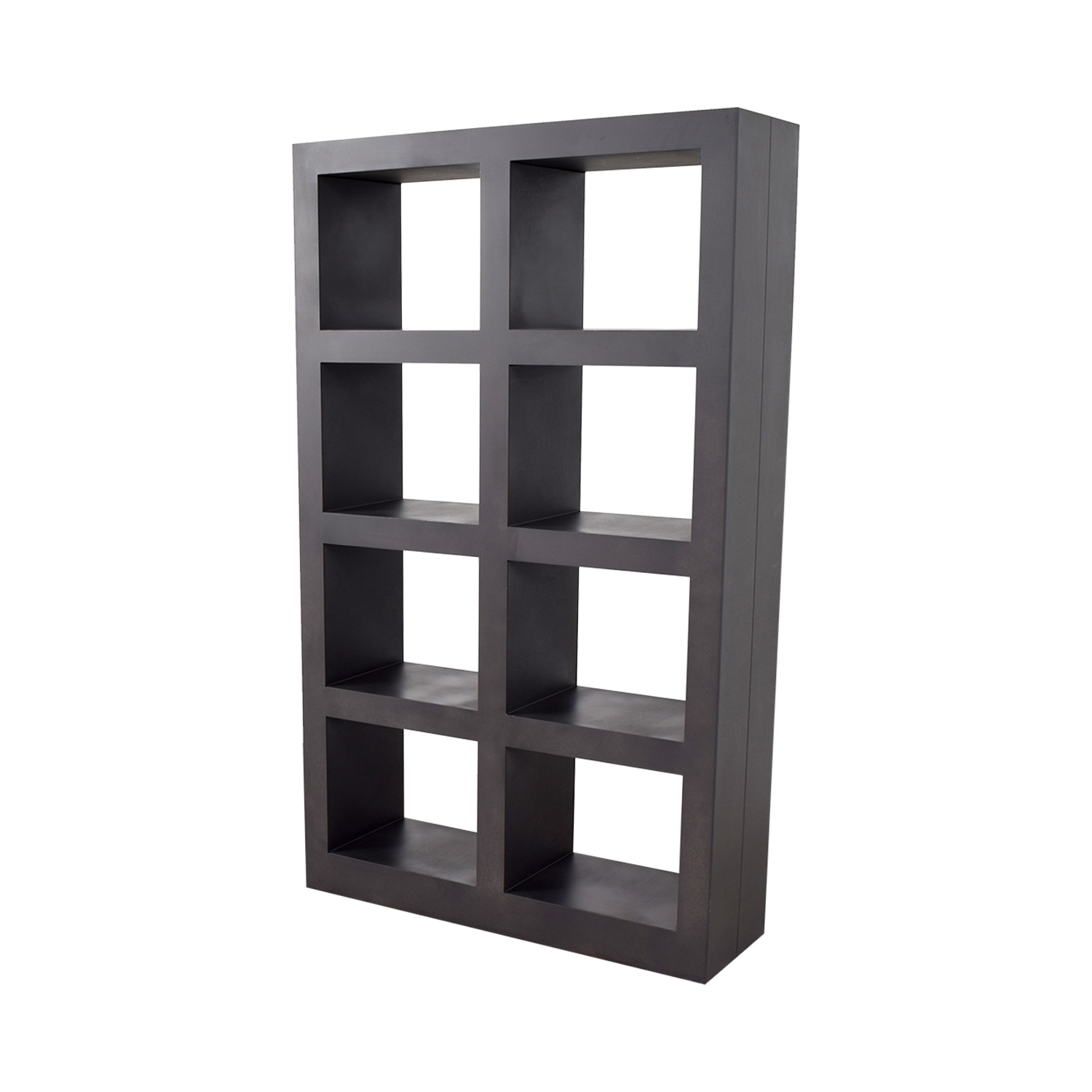 buy Crate & Barrel Shadow Box Bookcase Crate & Barrel