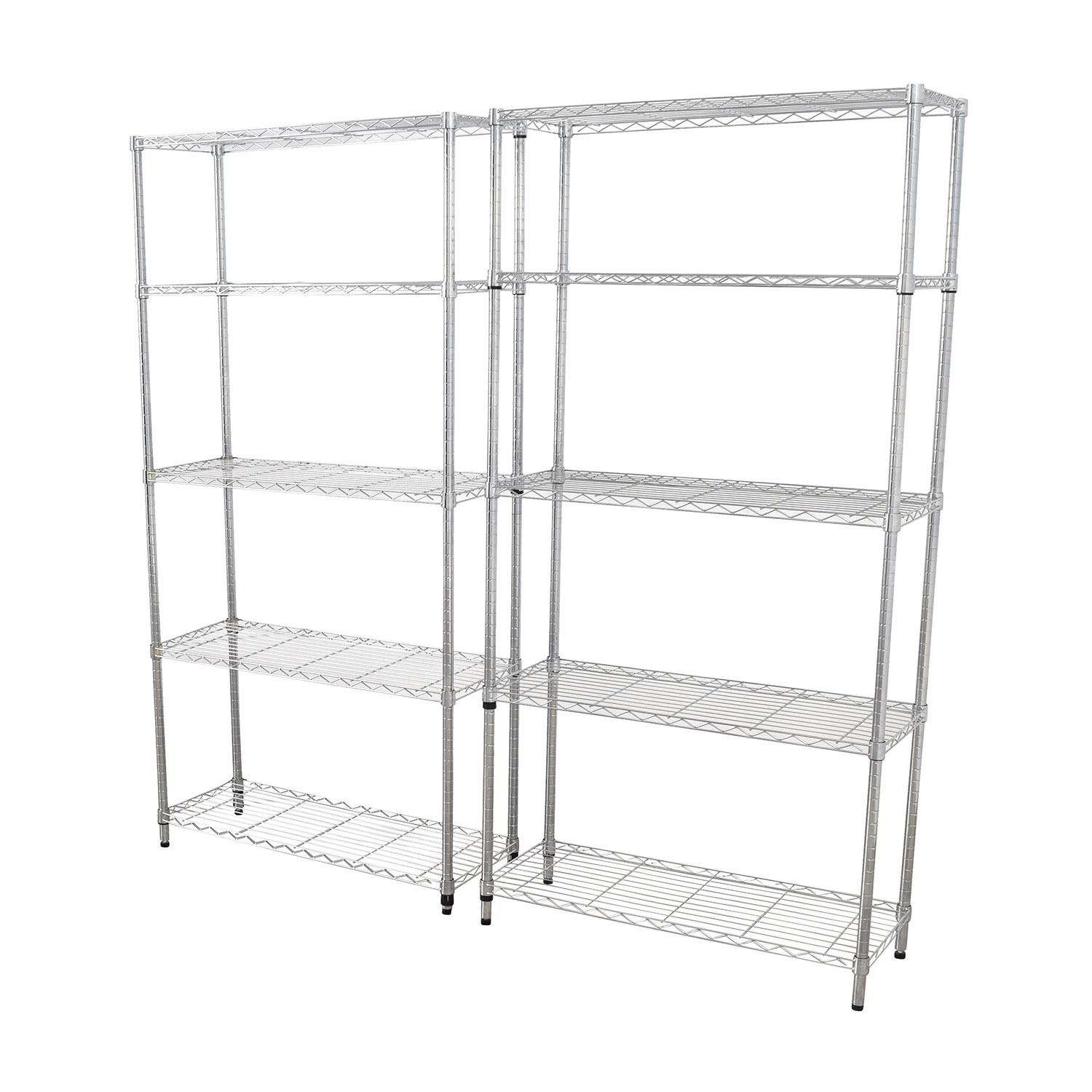 Home Depot Home Depot Chrome Five-Shelf Units discount