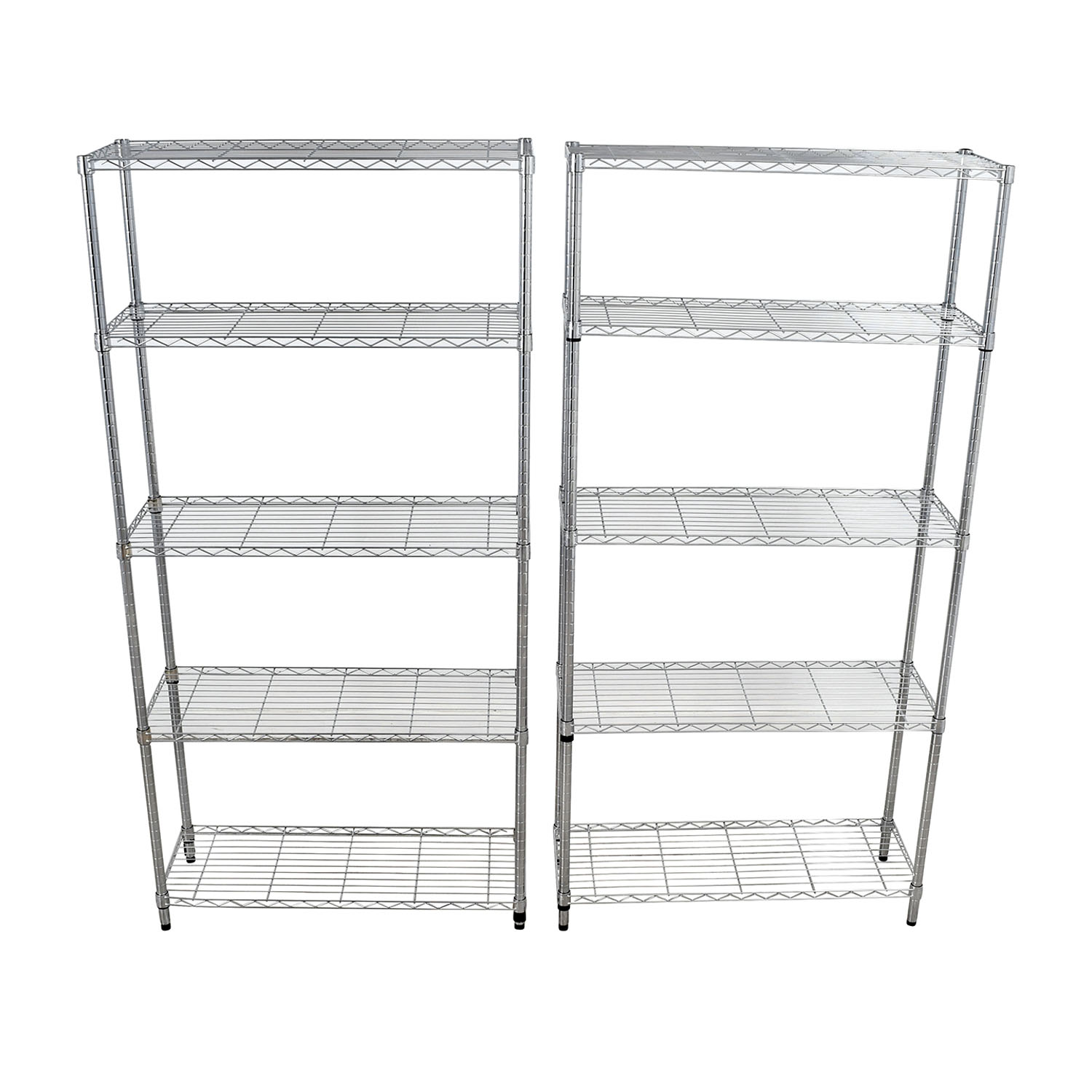 Home Depot Home Depot Chrome Five-Shelf Units on sale