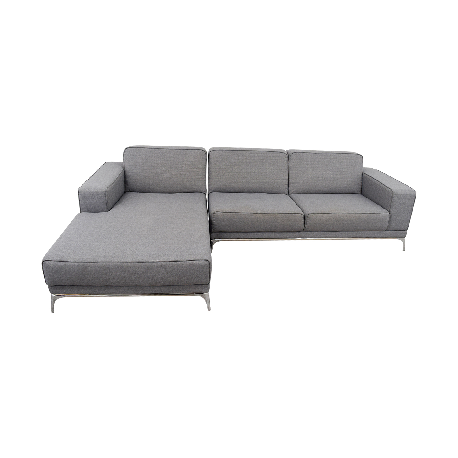 34% OFF Agata Agata Light Grey Sectional Sofas