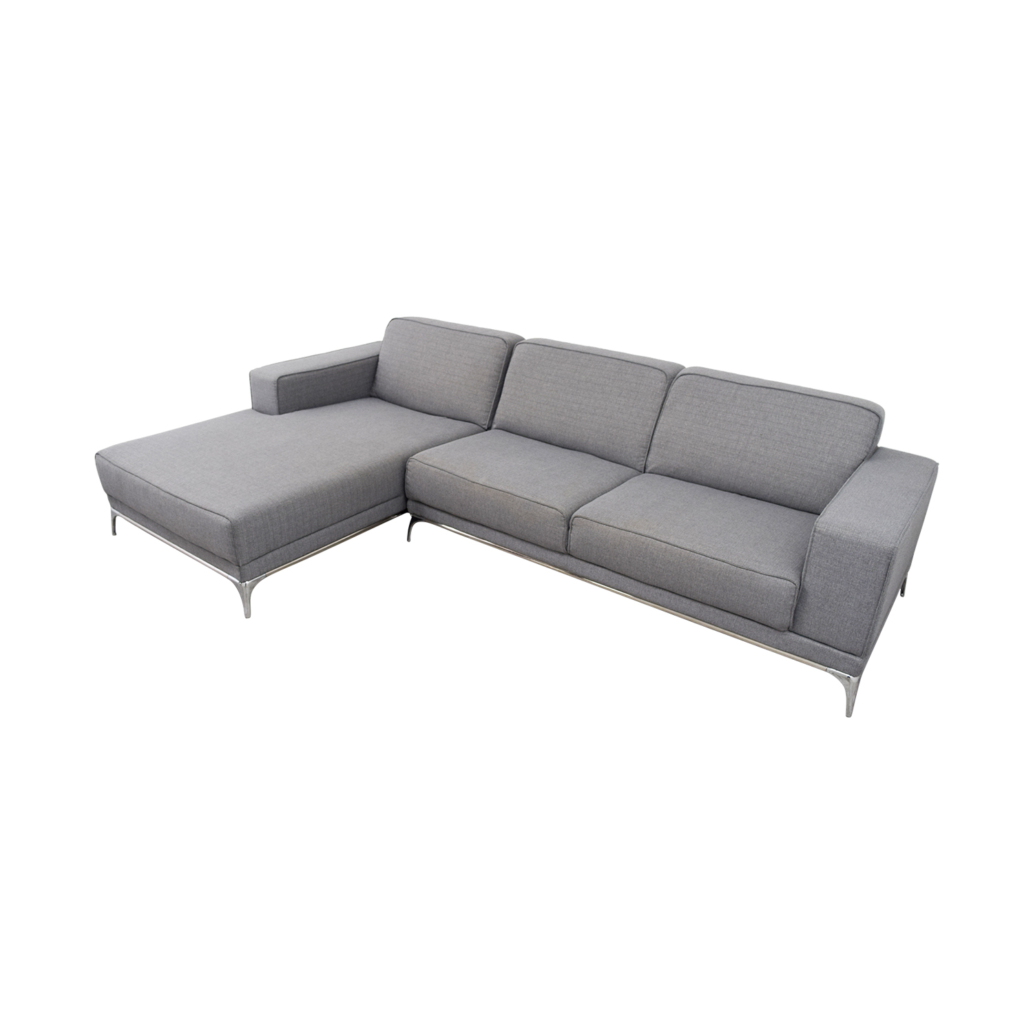 buy Agata Light Grey Sectional Agata